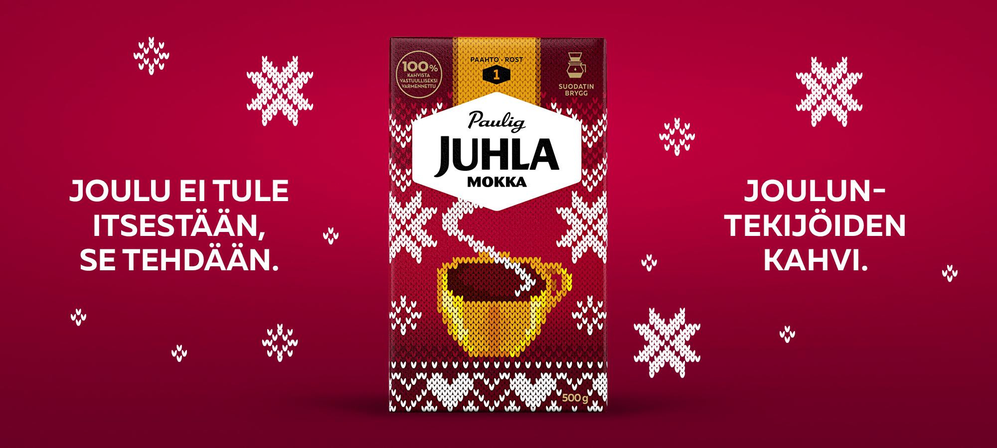 Juhla Mokka - Jouluntekijöiden kahvi