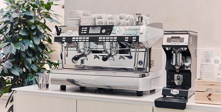 Nuova Simonelli coffee machine