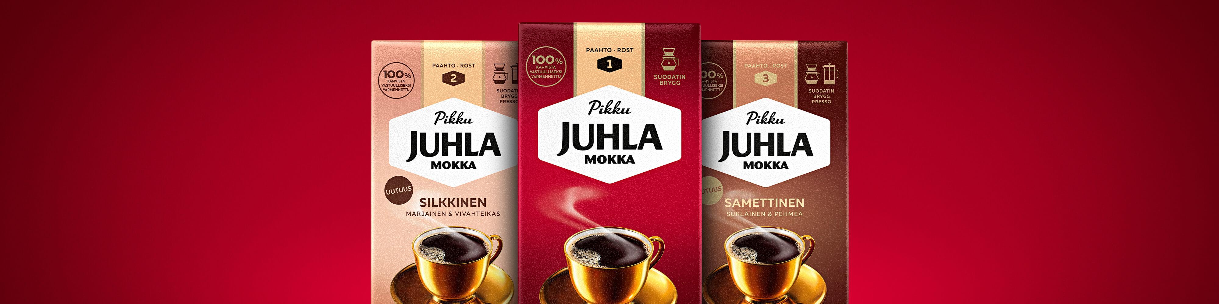 Paulig Pikku Juhla Mokka Samettinen, Silkkinen ja perinteinen