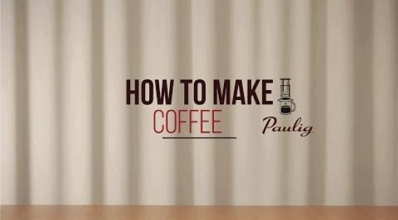 Paulig - How to make Coffee - Aeropress