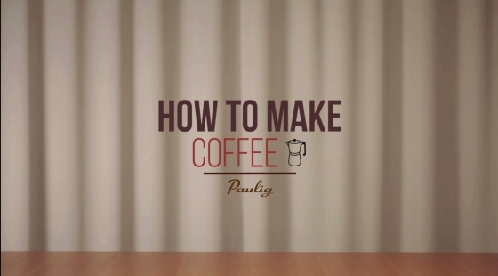 How to make Coffee - Moka pot