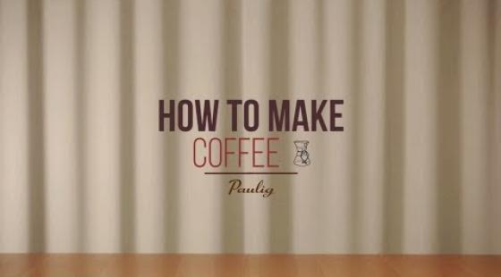 How to make Coffee - Chemex