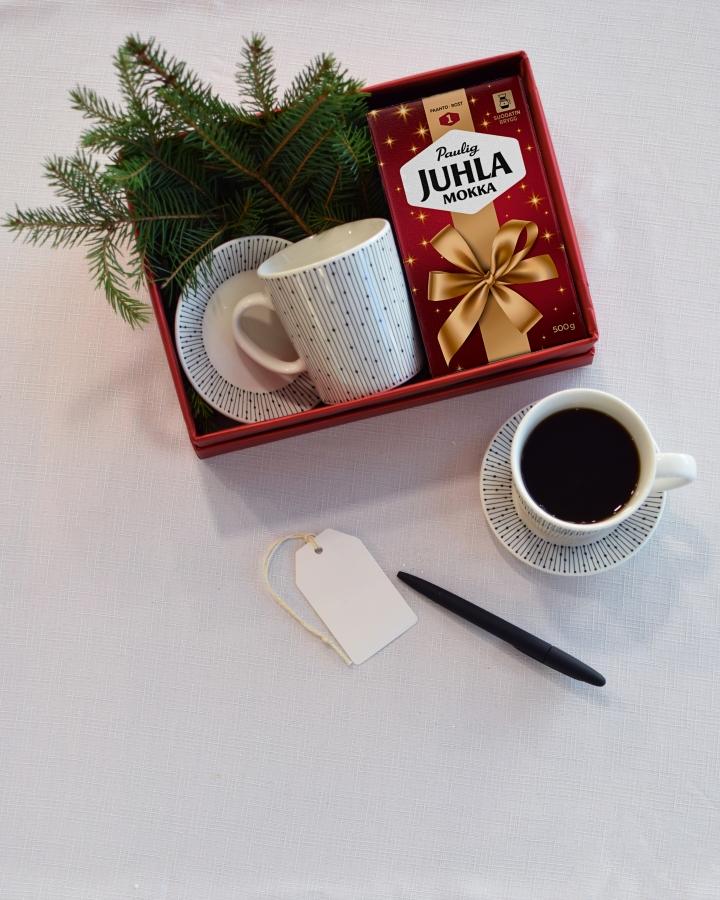 Juhla Mokka tuo joulun kahvihetkiin joulupaketillaan!