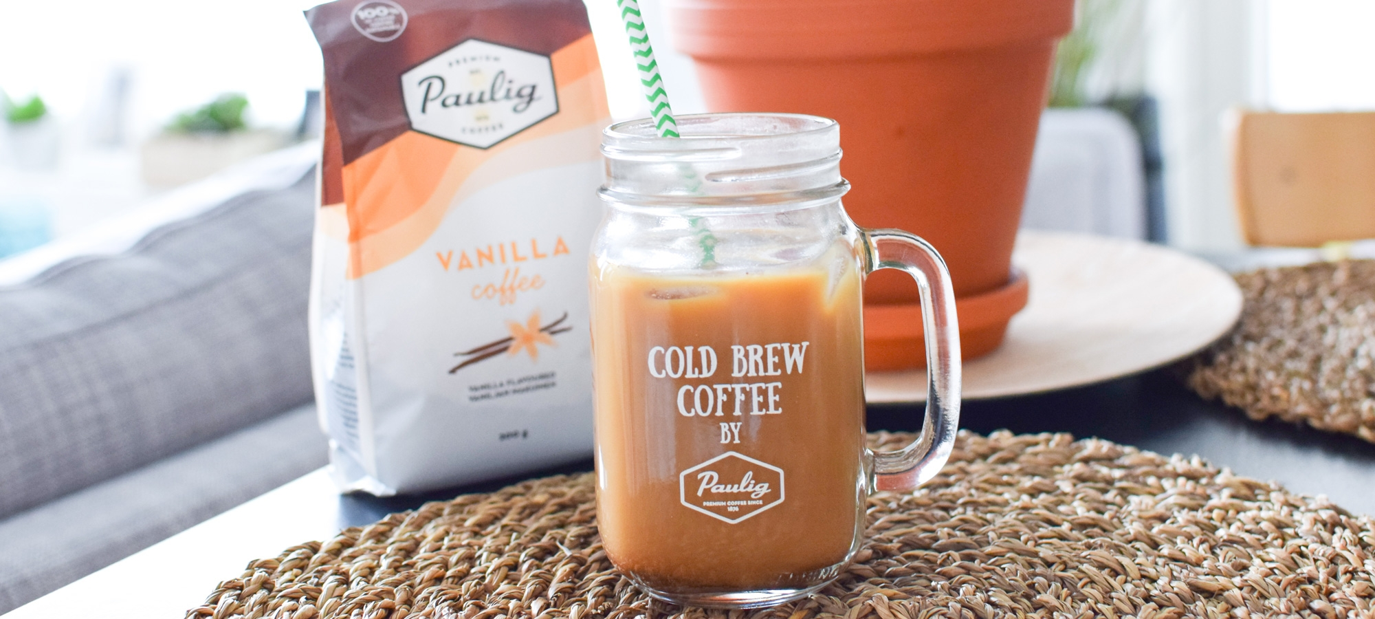 Cold Brew -kahvi Paulig Vanilla Coffee