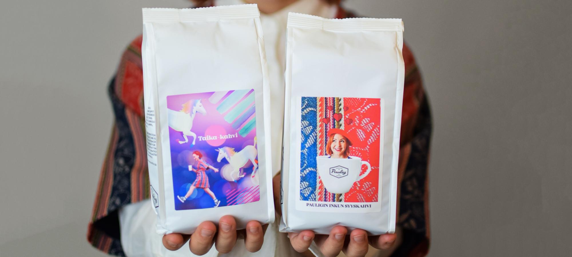 Hauskat personoidut kahvit Mun kahvi -palvelulla