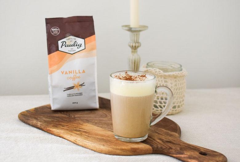 Vaniljakahvi on täydellinen jälkiruokakahvi ja se soveltuu erilaisiin kahviresepteihin