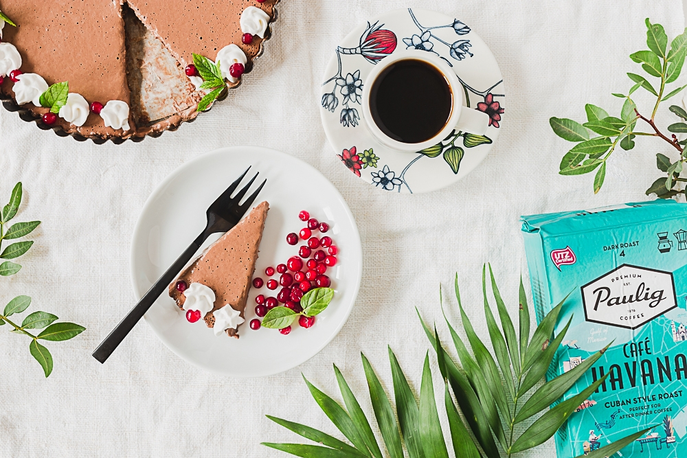 Café Havana ja suklaapiiras