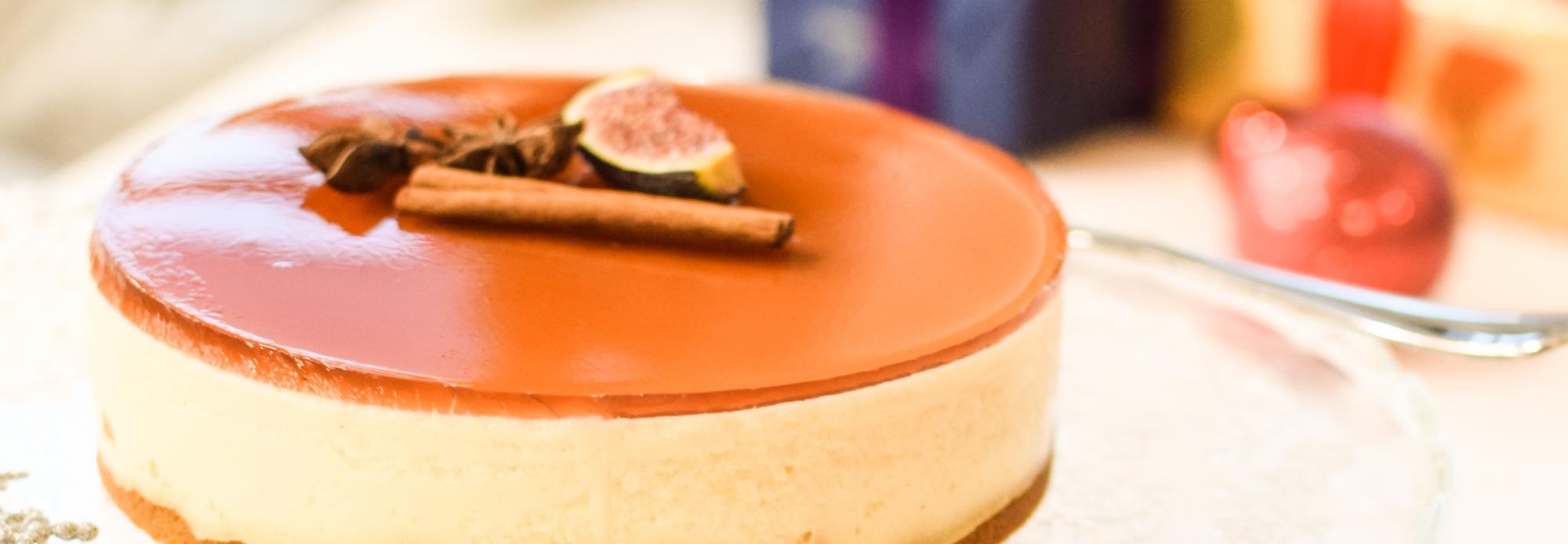 Juhla Mokka -kahvi ja glögijuustokakku on joulun maistuvin makupari!
