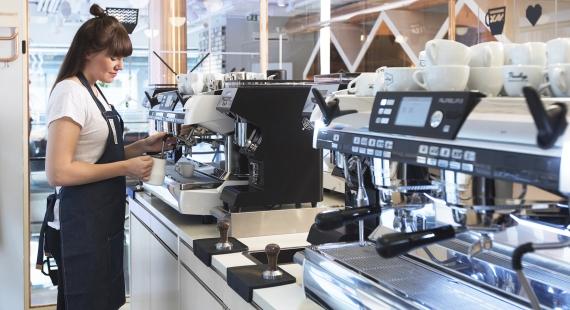 Paulig Barista -instituutin kursseilla oppii uutta ja ihmeellistä kahvista!