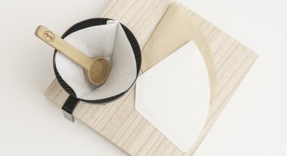 Onko ruskeilla ja valkoisilla suodatinpapereilla eroa?