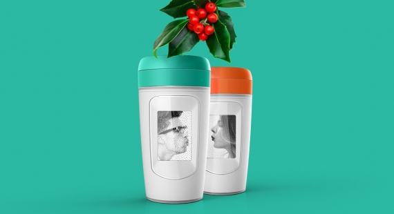 This year's hottest Christmas present is out! Coffee powered Paulig take-away cup brings joy back to coffee
