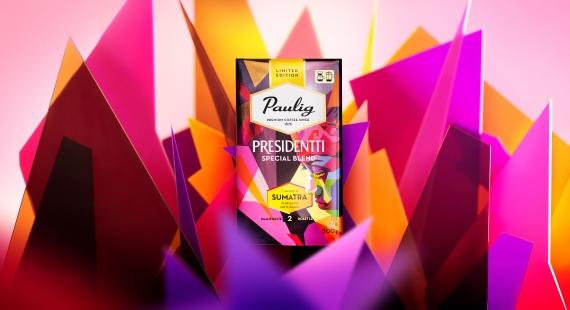 Presidentti Special Blend 2017 -vuosikertakahvin maku tulee Sumatralta!