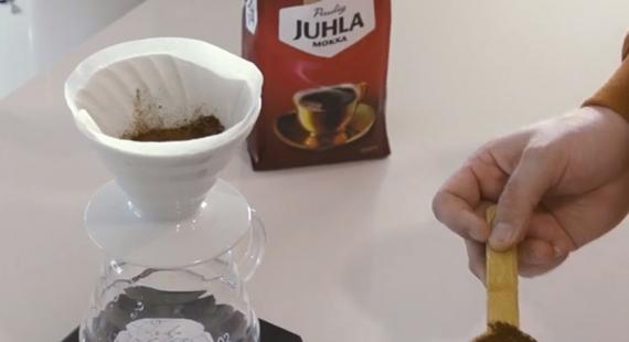 Juhla Mokka -kahvin tekijät