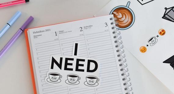 Ehdota somesisältö ja voita kahvitarroja!