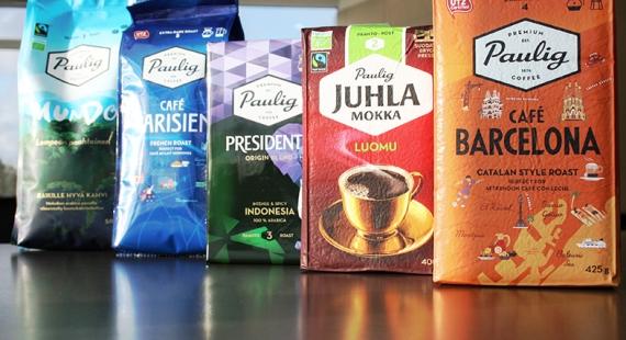 Miten kierrättää Pauligin kahvipaketit?
