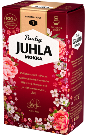 Juhla Mokka -äitienpäiväpakkaus 2019